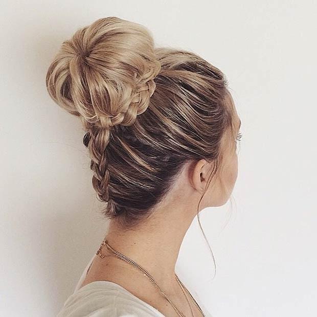 Прически плетенные волосы фото