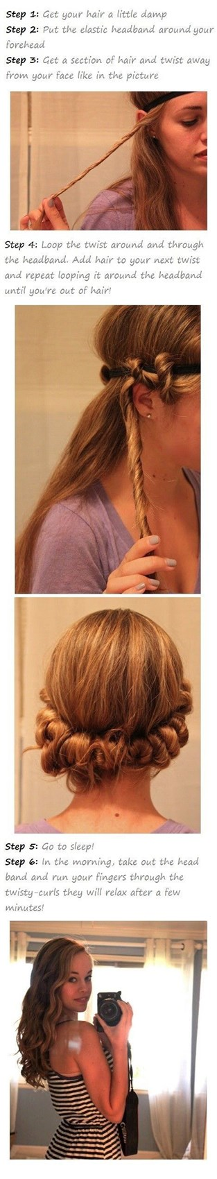 Две косички по бокам на длинные волосы